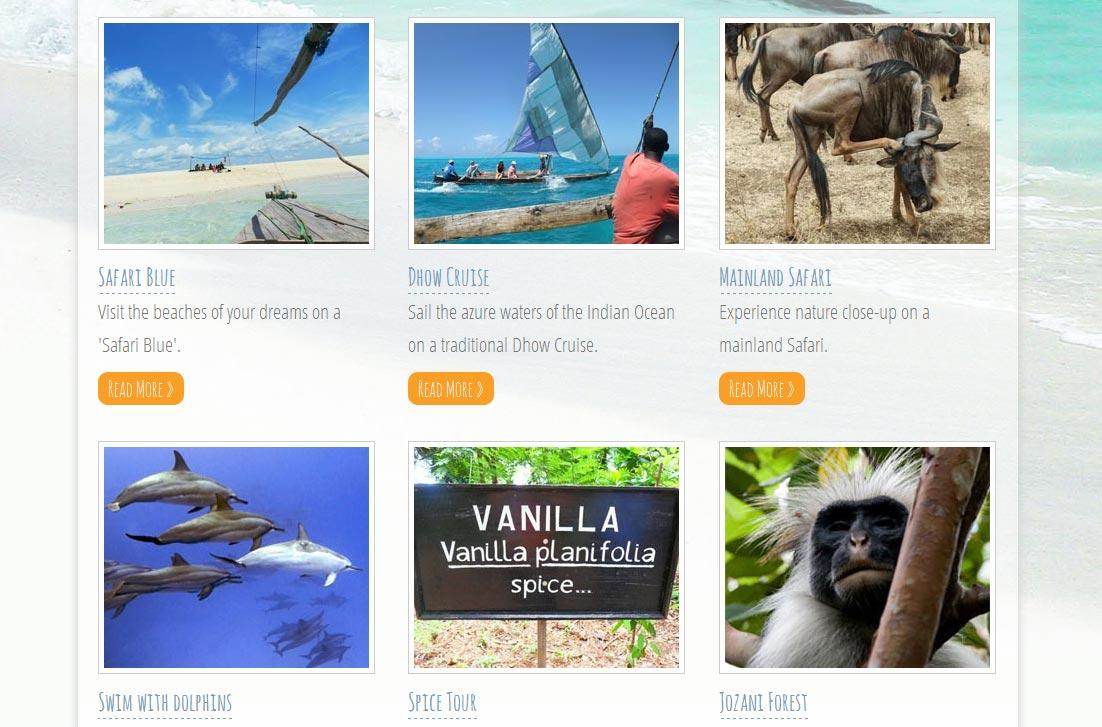 Feel Zanzibar Tourspage