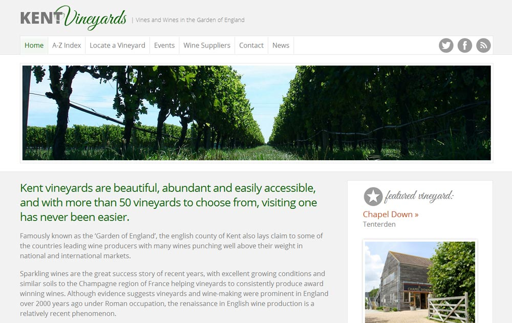 Kent Vineyards Home Page