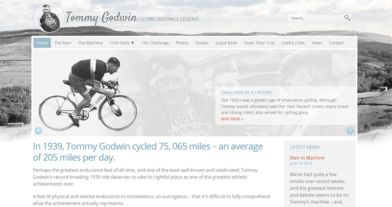 Tommy Godwin Homepage