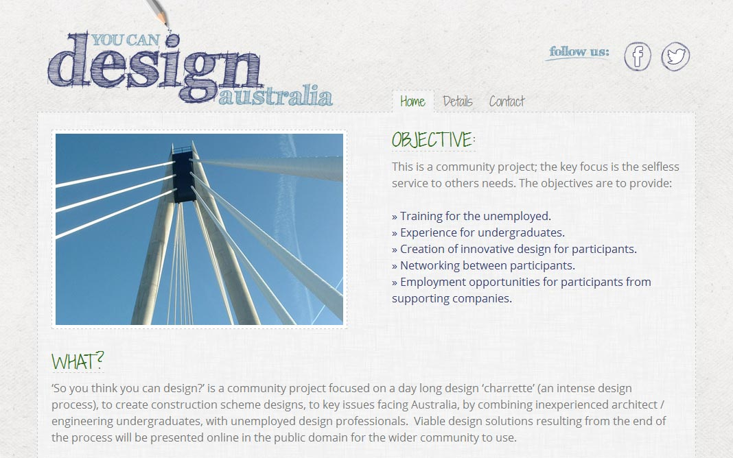 You Can Design Australia Home Page