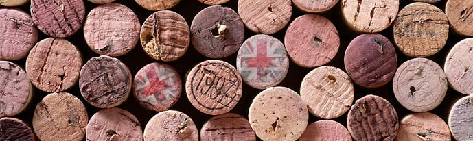 Union Jack Wine Cork
